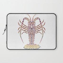 Tribal Caribbean Lobster Laptop Sleeve