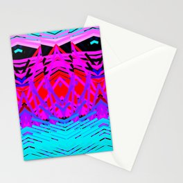 Neon Time Stationery Cards
