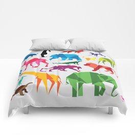 Paper Animals Comforters