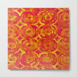 Red, Orange and Yellow Oils 7365 Metal Print