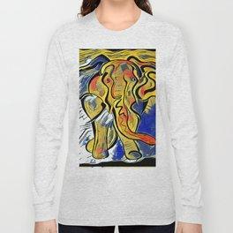 Lilys Elephant Long Sleeve T-shirt