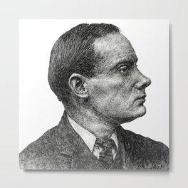 Padraig Pearse - Irish Hero Metal Print