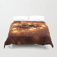 sleep Duvet Covers featuring Sleep by Mareva Nardelli