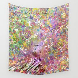 Nature Reverie - Bluebird Wall Tapestry