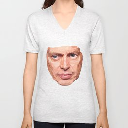 Shaping the Stars: Steve Buscemi Unisex V-Neck