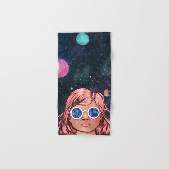 The Universe In Your Eyes Hand & Bath Towel