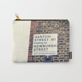 London street sign Carry-All Pouch