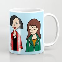 daria Mugs featuring Daria & Jane by Marianna