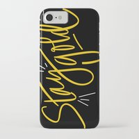 stay gold iPhone & iPod Cases featuring Stay Gold by Chelsea Herrick