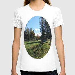 The long shadows at the park  T-shirt