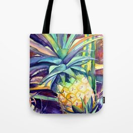 Kauai Pineapple 4 Tote Bag
