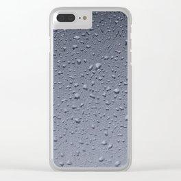 Gouttes d'eau Clear iPhone Case