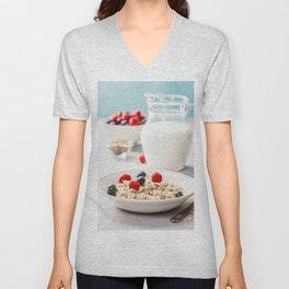 healthy breakfast Unisex V-Neck
