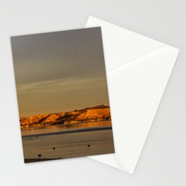 Morning Gold Stationery Cards
