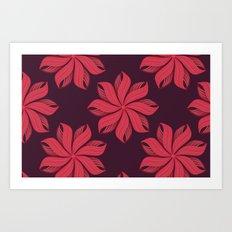 I Heart Patterns #004 Art Print