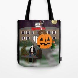 Halloweentown Plaza Tote Bag