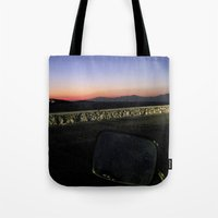 motorbike Tote Bags featuring Motorbike Vision by Cassandra Evelyn