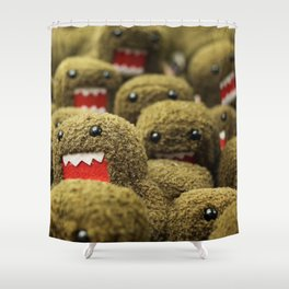 Domo Attacks! Shower Curtain