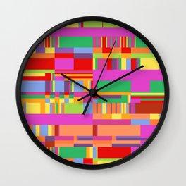 Debussy Little Shepherd (Jelly Bean Colours) Wall Clock