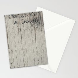 TEXT ON TEXTURE Stationery Cards