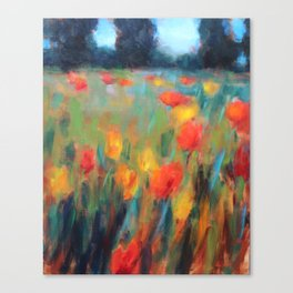 Hillside Brights Canvas Print