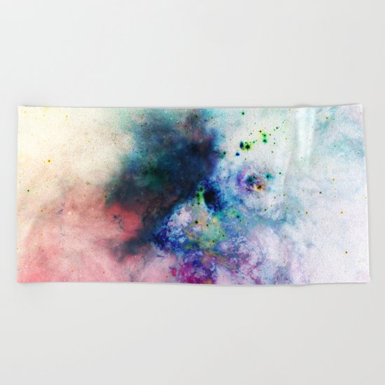 Everything is nothing 17 (therefore it was beautiful) Beach Towel