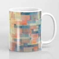 shipping Mugs featuring Cubism Dream (Brush Fire Remix) by Jacqueline Maldonado
