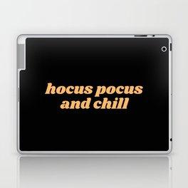 hocus pocus and chill Laptop & iPad Skin