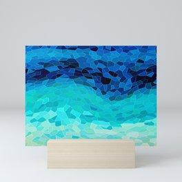 INVITE TO BLUE Mini Art Print