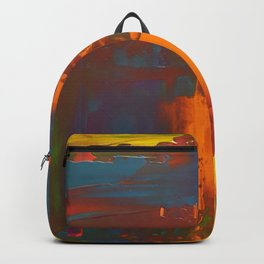 Layers of Solid Color Backpack