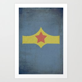 Superheroes II Art Print