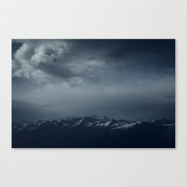 Full of snow Canvas Print