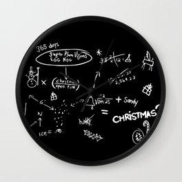 Nightmare Christmas Wall Clock