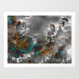 BeStill Art Print