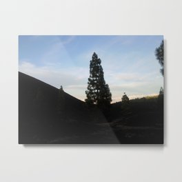 late at arena negra tenerife Metal Print