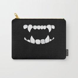 Vampire Halloween Vampire Teeth Bloodsucker Carry-All Pouch