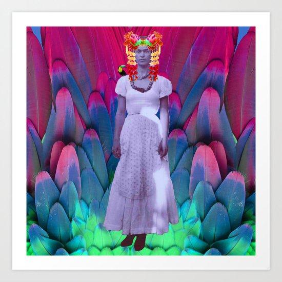 My Frida   My Herοine Art Print