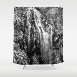 Gentle Cascade Shower Curtain