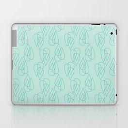 Rain Drops in Green Laptop & iPad Skin