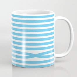 Stripes - Baby Blue Coffee Mug