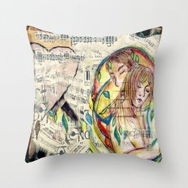 Someone to Hold Throw Pillow