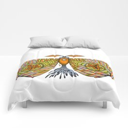 circus moth (ORIGINAL SOLD). Comforters