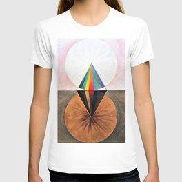 12,000pixel-500dpi - Hilma af Klint - The Swan, No.12, Group IX/SUW - Digital Remastered Edition T-shirt