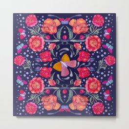 Butterfly Watercolour Dreams Metal Print