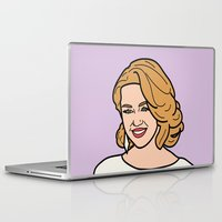 miley cyrus Laptop & iPad Skins featuring Miley Cyrus by agr_artwork