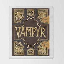 Vampyr Book -- Buffy the Vampire Slayer Throw Blanket
