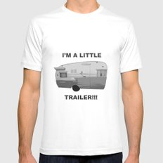 Trailer Trash 2 Mens Fitted Tee White SMALL