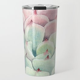 Perfect Pink Succulent Travel Mug
