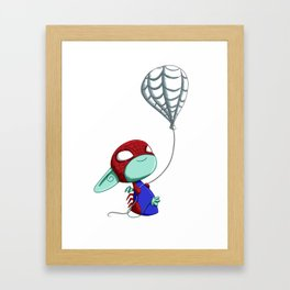 SpiderImp(ling) Framed Art Print