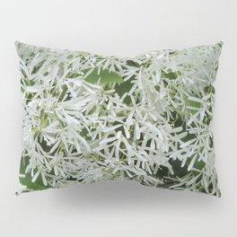 TEXTURES: White on Green Pillow Sham